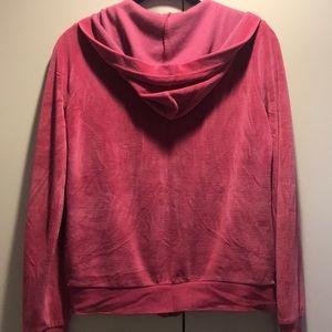 Lacoste Jackets & Coats - Pink Lacoste Velour Jacket